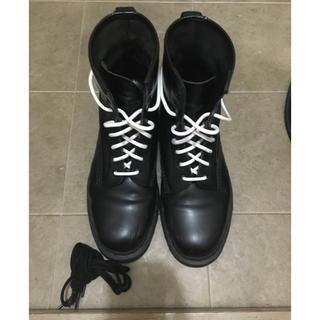 ドクターマーチン 8ホール ブーツ オールブラック UK10