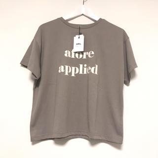 GRL - 新品 GRL グレイル ロゴTシャツ モカ