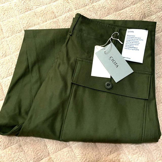 COMOLI(コモリ)のCIOTA シオタ ベイカーパンツ サイズ5 メンズのパンツ(ワークパンツ/カーゴパンツ)の商品写真