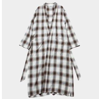 TODAYFUL - 定価32400円 PHEENY Rayon ombre check robe""