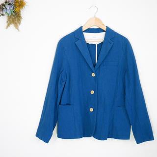 パーリッシィ(PAR ICI)の美品 パーリッシィ ビュルデサボン デザイン ジャケット(テーラードジャケット)