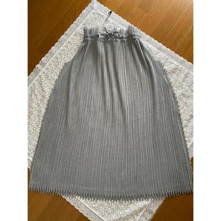 ISSEY MIYAKE - issey miyake ロングスカート
