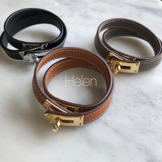 DEUXIEME CLASSE - kelly leather braceret