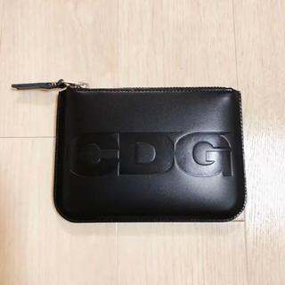 コムデギャルソン(COMME des GARCONS)の新品 送料込 コムデギャルソン CDG ポーチ型 ロゴウォレット 財布(その他)