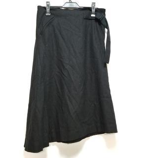 ワイスリー ロングスカート サイズXS 黒(ロングスカート)
