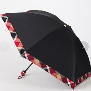 BURBERRY BLUE LABEL - 新品未使用 ブルーレーベルクレストブリッジ 晴雨兼用 折り畳み傘