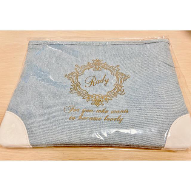 Rady(レディー)のRady クラッチバッグ ライトブルー レディースのバッグ(クラッチバッグ)の商品写真