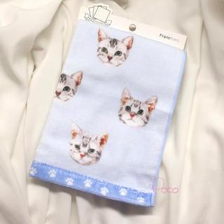 Francfranc - 新品❗️フランフラン ねこ タオルハンカチ 猫