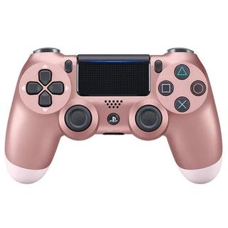プレイステーション4(PlayStation4)のpc ps4 コントローラー ローズゴールド 桃金色(ピンク)(その他)