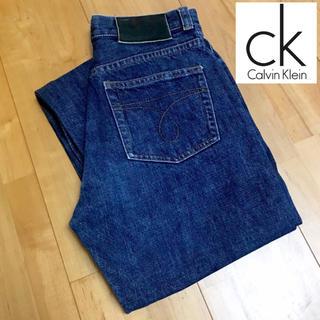 カルバンクライン(Calvin Klein)の【Calvin Klein】デニムパンツ レディース ボタンフライ(デニム/ジーンズ)