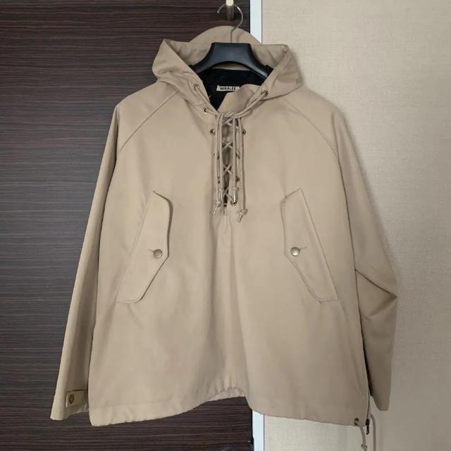 auralee オーラリー  レースアップ ブルゾン  メンズのジャケット/アウター(ブルゾン)の商品写真