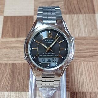 カシオ(CASIO)の【CASIO/電波ソーラー】メンズ腕時計 デジアナ LCW-M200(腕時計(デジタル))