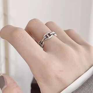 アメリヴィンテージ(Ameri VINTAGE)のSilver plating ring -koma-(リング(指輪))