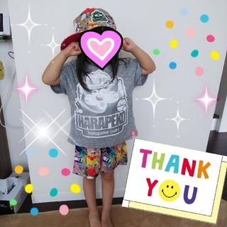 ロデオクラウンズワイドボウル(RODEO CROWNS WIDE BOWL)のMAORIちゃん☆*° RCWB デニムパッチTシャツ(Tシャツ(半袖/袖なし))