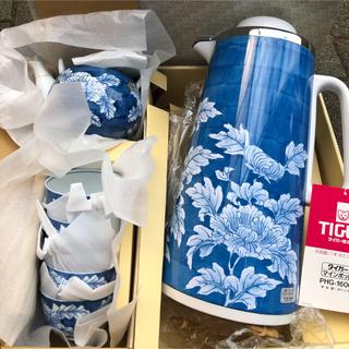 タイガー(TIGER)のタイガー有田焼 魔法瓶セット(調理機器)