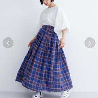 merlot - 【SALE】merlot チェック柄スカート