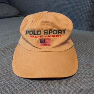 ラルフローレン(Ralph Lauren)の90sビンテージアメリカ製ポロスポーツラルフローレンキャップハット帽子RRL(キャップ)
