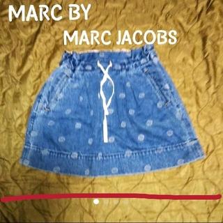 MARC BY MARC JACOBS - MARC BY MARC JACOBS 柄 デニムスカート