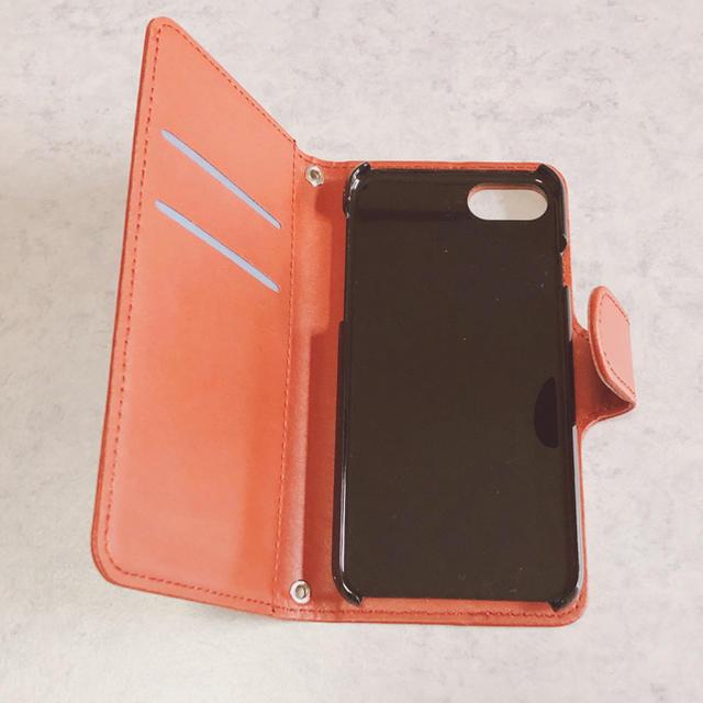 no.192 くま スター iPhone8 手帳型ケース ハンドメイドのスマホケース/アクセサリー(スマホケース)の商品写真
