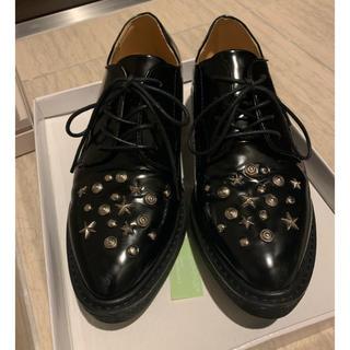ジーナシス(JEANASIS)のスタッズ付きローファー(ローファー/革靴)