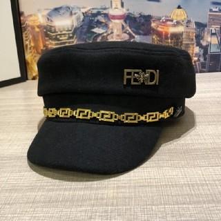 FENDI - 超人気Fendi フェンディ レディース 帽子 ハット ブラック