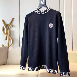 フェンディ(FENDI)の人気Fendiフェンデイニットセーター ブラック メンズ カコイイ(ニット/セーター)