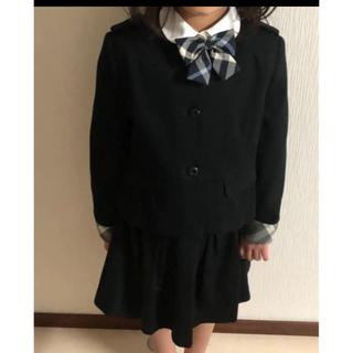 バーバリー(BURBERRY)のバーバリー  スーツ 黒 120 130 卒園式 入学式(ドレス/フォーマル)