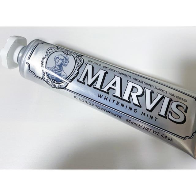 MARVIS(マービス)のMARVISホワイトニングミント 歯磨き粉 85ml 2本セット コスメ/美容のオーラルケア(歯磨き粉)の商品写真