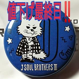 三代目 J Soul Brothers - 三代目 RTF 登坂広臣 アニマル 缶バッジ ㉖