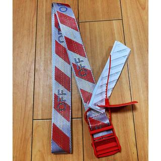 OFF-WHITE - OFF-WHITE 赤色 ベルト 約200CM