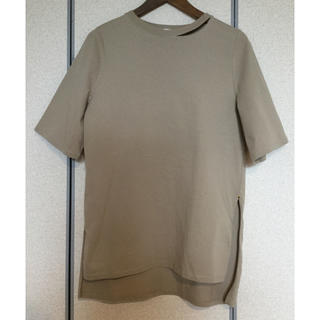 green label relaxing - green label relaxing スリット オーバーサイズ Tシャツ