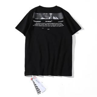 OFF-WHITE - Off white オフホワイト 黒色 Tシャツ Lサイズ