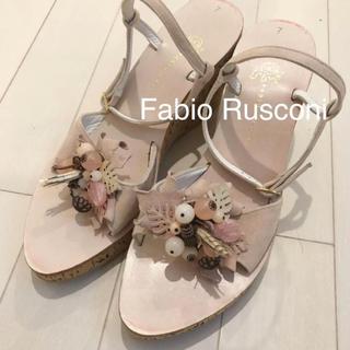 ファビオルスコーニ(FABIO RUSCONI)のFabio Rusconi ヒールサンダル ファビオルスコーニ(サンダル)