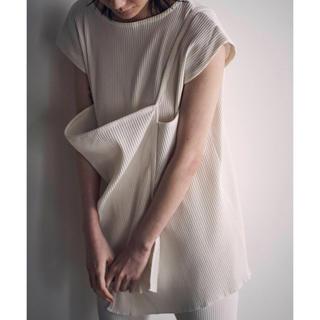 シー(SEA)のリブスリーブレス プルオーバー(カットソー(半袖/袖なし))