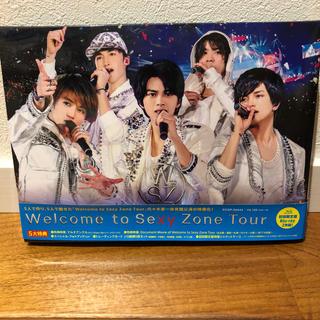セクシー ゾーン(Sexy Zone)のWelcome to SexyZoneTour(初回限定盤BD) Blu-ray(ミュージック)