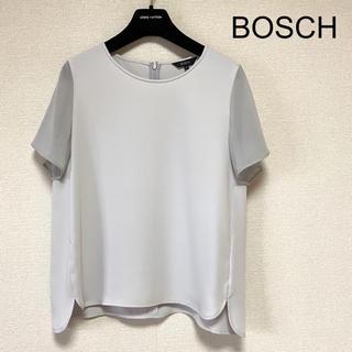 BOSCH - 【BOSCH】異素材切り替えカットソーブラウス 美品