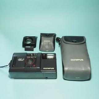 オリンパスOlympus コンパクトフィルムカメラ AF-1 実写サンプル有