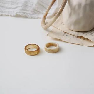 ローズバッド(ROSE BUD)のmarble  ring 〻(リング(指輪))