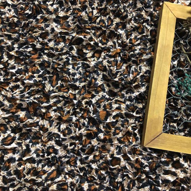 Lochie(ロキエ)のvintage レオパード ポップコーン キャミ itimi jantiques レディースのトップス(キャミソール)の商品写真