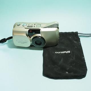 オリンパス フィルムカメラ μZoom70 deluxe 実写サンプル有