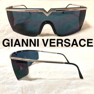 ジャンニヴェルサーチ(Gianni Versace)のGIANNI VERSACE デザイン サングラス ワンレンズ ヴィンテージ(サングラス/メガネ)