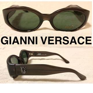 ジャンニヴェルサーチ(Gianni Versace)のGIANNI VERSACE 新品 オーバル サングラス ヴィンテージ 90s(サングラス/メガネ)