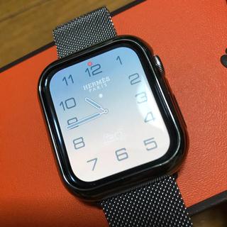 アップルウォッチ(Apple Watch)の限界価格ですアップルウォッチ エルメスシリーズ5 44mm (腕時計(デジタル))