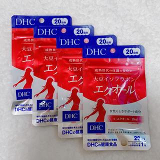 ディーエイチシー(DHC)のDHC エクオール 20日分×4袋(その他)