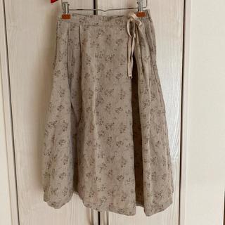 SM2 - サマンサモスモス お花柄リネンスカート