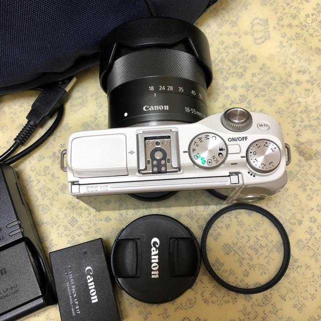 Canon(キヤノン)のCANON キャノン EOS M3 EF-M 18-55mm  レンズキット  スマホ/家電/カメラのカメラ(ミラーレス一眼)の商品写真
