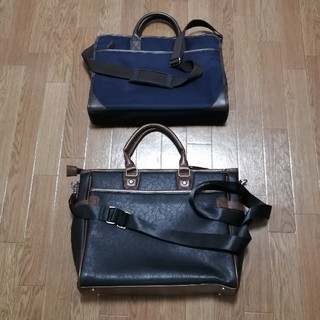ムジルシリョウヒン(MUJI (無印良品))のビジネスバッグ(×2:無印良品、GLEVIO)(ビジネスバッグ)