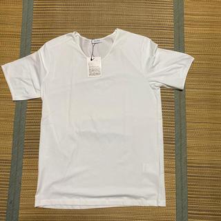 ジルサンダー(Jil Sander)のJILSANDER vネック tシャツ tee ジルサンダー 高級 無地(Tシャツ/カットソー(半袖/袖なし))