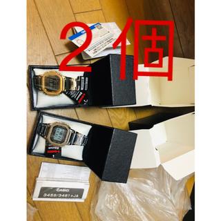 カシオ(CASIO)の GMW-B5000D-1JF  シルバーGMW-B5000GD-9JFゴールド(腕時計(デジタル))