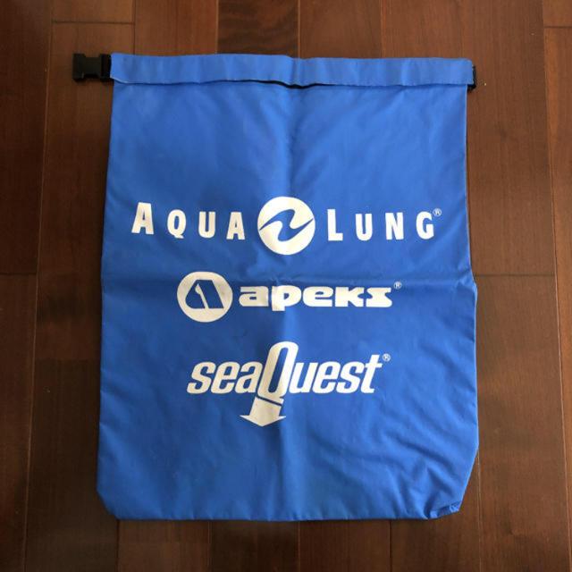 Aqua Lung(アクアラング)の防水バッグ  AQUA LUNG 水色 Lサイズ マリンバッグ スポーツ/アウトドアのスポーツ/アウトドア その他(マリン/スイミング)の商品写真
